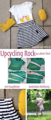 Upcycling-Rock für Kinder FREEBIE