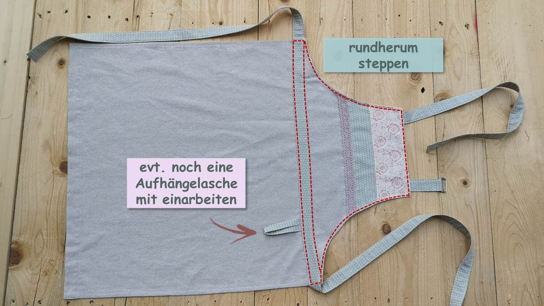Kuchenschurze Selber Nahen Schritt Fur Schritt Anleitung Handmade Kultur