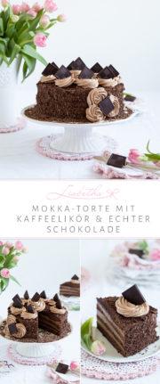 """""""MOKKA-TORTE MIT KAFFEELIKÖR UND ECHTER SCHOKOLADE!"""""""