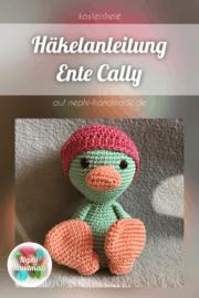 Häkelanleitung Ente Cally