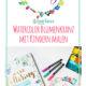 Malen mit Kindern - Blumenkranz mit Lettering