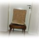 Bezug für Stuhllehne, Stuhlhusse aus Stoffresten selber nähen