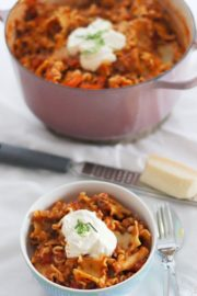 One Pot Nudeln a la Lasagne