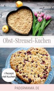 Obst-Streuselkuchen: Apfel oder Kirsch?