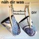 Strandkorb Mülleimer nähen - DIY