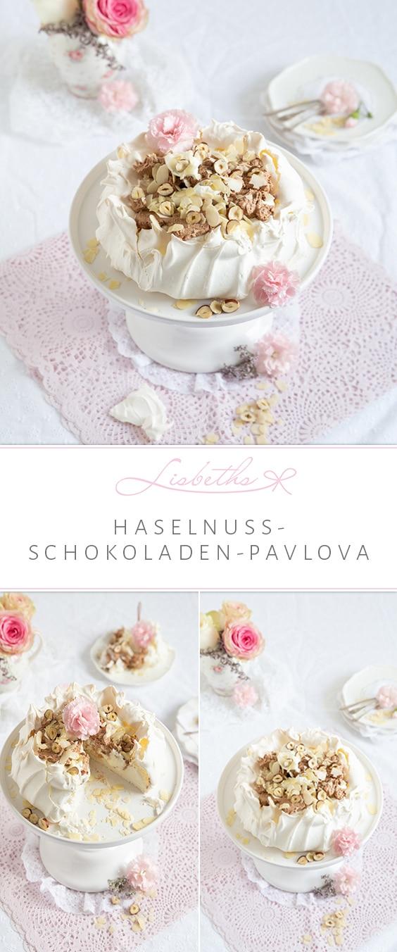 Haselnuss-Schokoladen-Pavlova