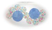 Tischläufer aus elf Kreisen nähen, Stoffresteverwertung