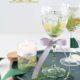 Sommerliche Gel-Kerzen mit echten Pflanzen einfach selber gießen
