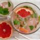 Grapefruit-Limonade mit Minze – Pink Grapefruit Soda
