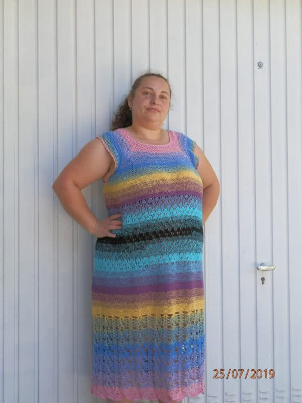 Buntes Sommer Kleid