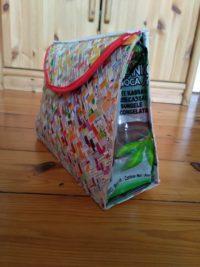 Kulturbeutel aus (Getränke-)verpackungen