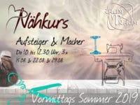 Nähkurs Aufsteiger & Macher 3x Do Vormittags 10 bis 12.30 Uhr