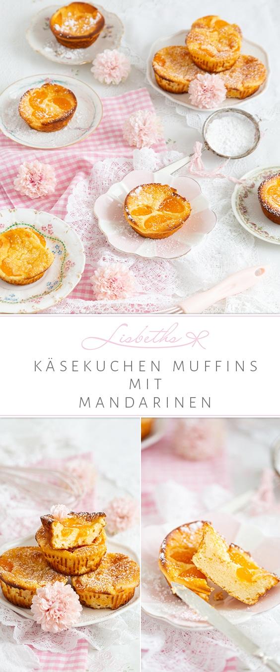 """KÄSEKUCHEN MUFFINS MIT MANDARINEN!"""
