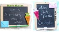 Geschenke zum Schulanfang basteln