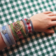 Oktoberfest Armband basteln