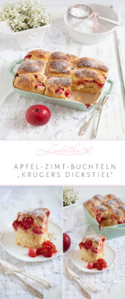 """Apfel-Zimt-Buchteln!"""
