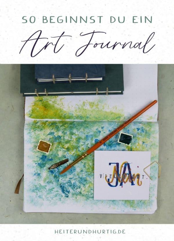 So beginnst du ein Art Journal
