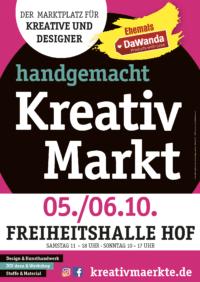 6. handgemacht Kreativmarkt // Hof Freiheitshalle