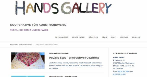 Blog: Neues in der Hands Gallery | Kooperative für Kunsthandwerk