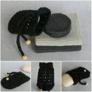 Waschlappen, Kosmetikpads und Seifensäckchen häkeln / stricken