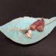 Herbstliche Deko: Schöne Schalen aus Fimo Air