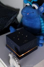 DIY Nachtlicht aus Spanschachtel