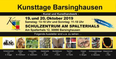Kunsttage Barsinghausen – Der Kunsthandwerkermarkt