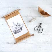 DIY Vintage-Bilderrahmen