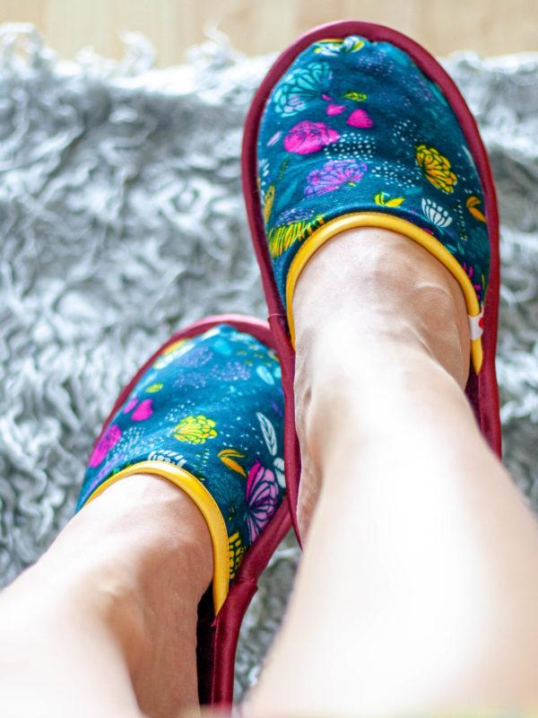 Pantoffeln nähen - Bye Bye kalte Füße!
