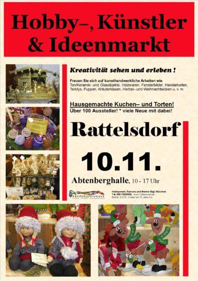 Rattelsdorfer Hobby-, Künstler- und Ideenmarkt