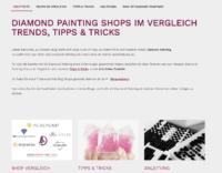 Diamond Painting Erfahrungen - Meine Diamond Painting Erfahrungen