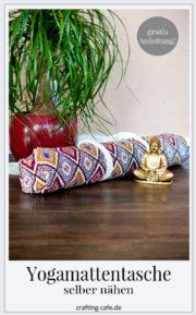 Nähanleitung für Yogamattentasche