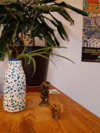 Blumenvase Santorin