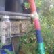 Gartenlaternen- Leiter