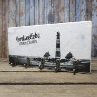 Nordseeliebe - elbPLANKE® mit Haken