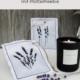 Lavendelduftsäckchen mit Plottermotiven + Freebie