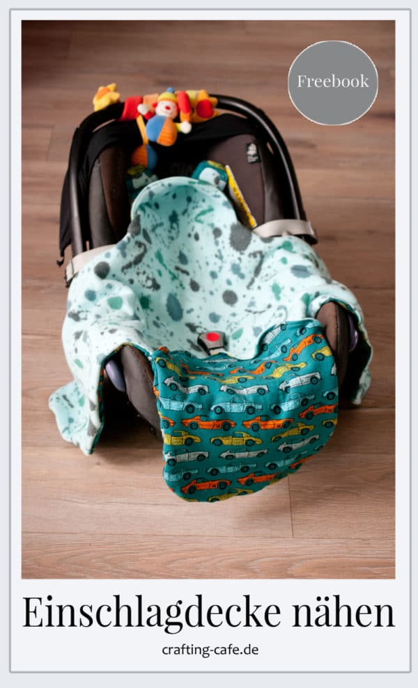 Einschlagdecke fürs Baby nähen