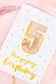 Geburtstagskarte als Geldgeschenk