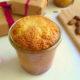 Orangenkuchen mit Mandeln und weißer Schokolade – Ein Kuchen im Glas