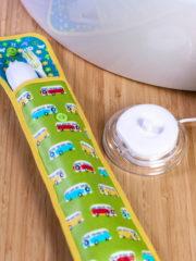 Zahnbürsten Etui für die Reise