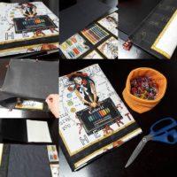 Bildanleitung Ordner und Hefterhüllen leicht selber machen
