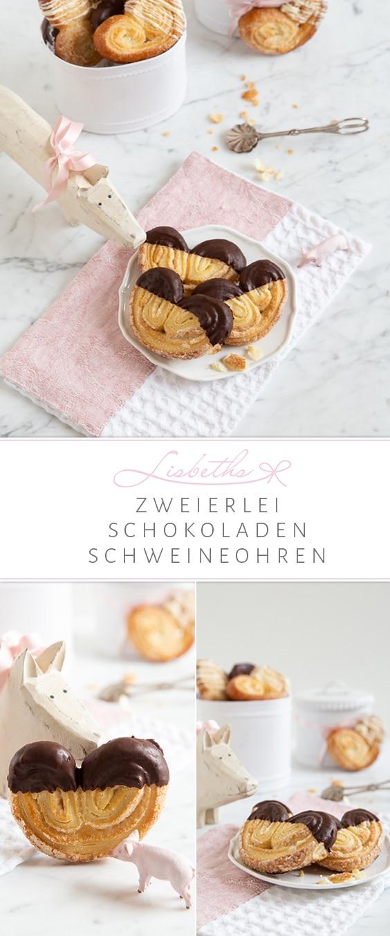 """""""Zweierlei Schokoladen Schweineohren mit selbstgemachtem Blätterteig!"""""""