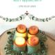 Upcycle Idee: Adventskranz basteln aus Pappbecher