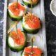 Lachs-Gurken-Frischkäse-Häppchen - schnelle & einfache Vorspeise zum Fest