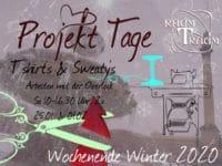 Nähkurs Projekt T'Shirts und Sweaties 2x Sa  10 bis 16.30 Uhr