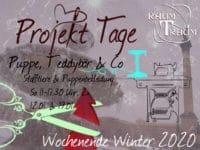 Nähkurs Projekt Stofftiere Wochenende 2x So 11-17.30 Uhr