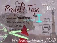 Projekt Wochenende Taschen Nähen 2x So 11.00 bis 17.30