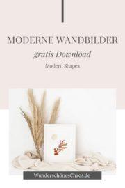 Modern Shape Wandbilder (gratis Download)
