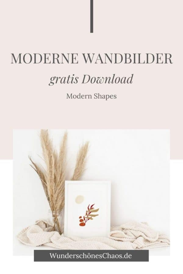 Modern Shape Wandbilder (gratis Download)