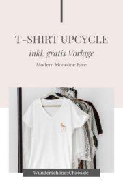 DIY T-Shirt verschönern (inkl. gratis Vorlage)
